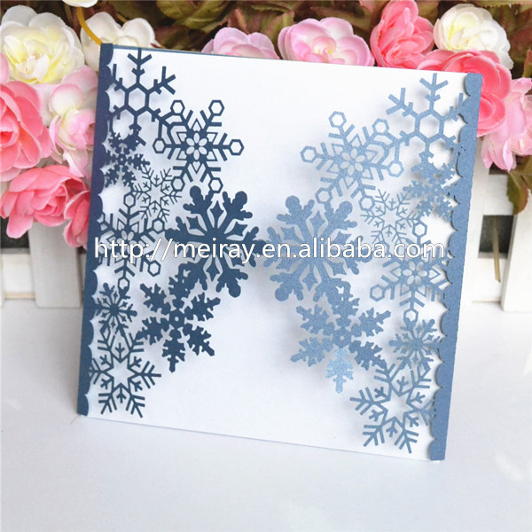 Popular Snowflake Wedding Invitations-Buy Cheap Snowflake Wedding ...