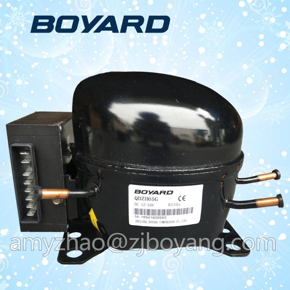 zhejiang boyard frigo parts dc 12v refrigeration compressor boyard 12v 24v refrigeration compressor for car minibar