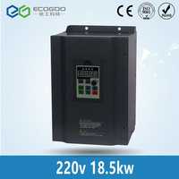 18.5kw 220v 1 o r 3 phase input & 220V 3 phase output frequency inverter/variable speed drive/frequency converter