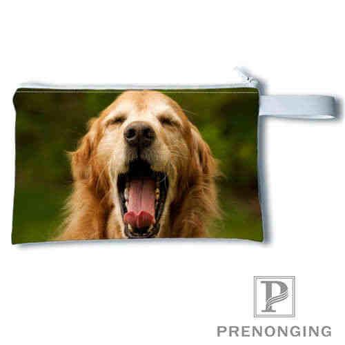Monedero con estampado de perro personalizado, monedero con cierre, billetera cero, bolsos para llaves de teléfono, monedero femenino pequeño a la moda #19- 01-22-4-194
