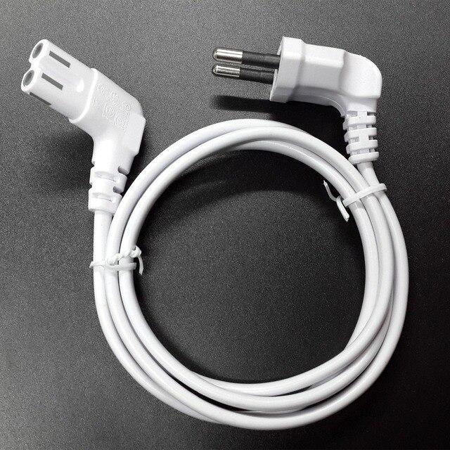 3m rysunek 8 C7 w celu uzyskania zasilanie prądem zmiennym przewód ue Euro rodzaj pod kątem 90 stopni dla samsung sony sharp telewizor led 300cm biały
