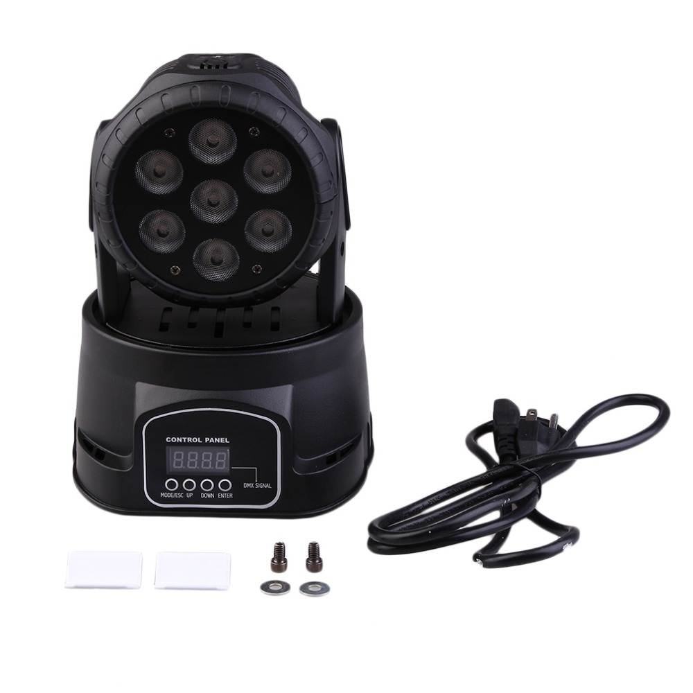 DMX-512 Mini Moving Head Light RGBW LED Stage PAR Light Lighting Strobe Professional 9/14 Channels Party Disco Show Free Ship dmx 512 mini moving head light rgbw led stage par light lighting strobe professional 9 14 channels party disco show
