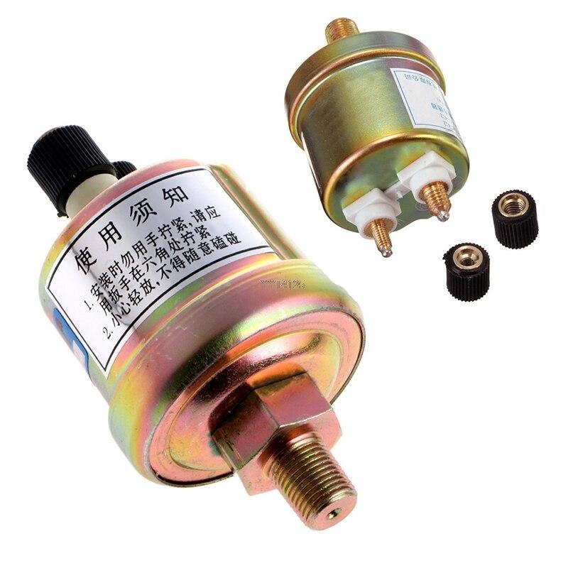US $7 06 28% OFF Engine Oil Pressure Sensor Gauge Sender Switch Sending  Unit 1/8 NPT 80x40mm Apr convenient installation-in Pressure Sensor from