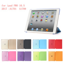 купить Tablet Case for iPad pro 10.5 (2017) PC Hard+PU Leather Smart Auto Sleep Wake Case Ultra Slim Case for iPad pro10.5  A1701 A1709 по цене 447.45 рублей