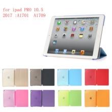 купить Tablet Case for iPad pro 10.5 (2017) PC Hard+PU Leather Smart Auto Sleep Wake Case Ultra Slim Case for iPad pro10.5  A1701 A1709 онлайн