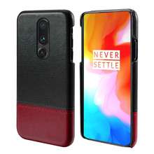 for Oneplus 7 Pro Cover Ultra Slim Hard PC Back Leather Duty Protective Armor Phone Case Capa Oneplus 7 7 pro Shockproof Cover