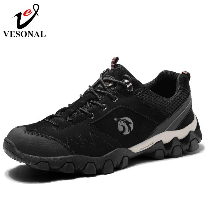 Chaussures Adulte Shoes gray Qualité Mode Vesonal L'usure Résistant Shoes Conception Formen Khaki Plage Shoes Mâle 2018 Marque De Automne À black 9754 Marche Antidérapant Nouveau vgxCCWqPwS