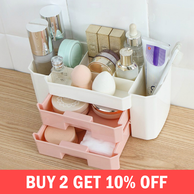stenzhorn Desktop Drawer Makeup Organizer Women Cosmetics