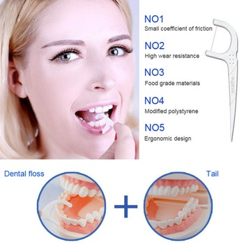 50 Count Dental Flosser Sticks Disposable Dental Floss Teeth Flossing Tools For Adults And Kids Y4 Dental Flosser