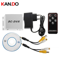 Mini CCTV DVR Recorder X DVR 1CH Playback Function Motion Detected Recording 1CH TF Card Support
