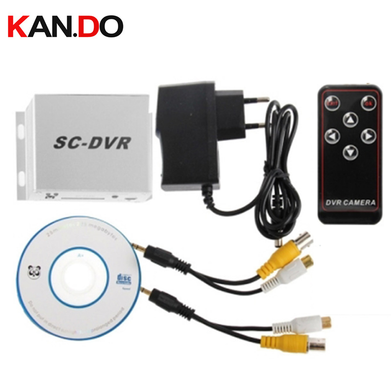 32GB option Mini CCTV recorder SC-DVR 1CH Playback Function Motion Detected Recording SC DVR SD CARD remote control DVR ...