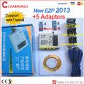 Full set EZP2013 + 5 adapters, updated from EZP 2010 EZP2011 25T80 bios High Speed USB SPI Programmer, hot sale!