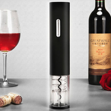 Electric Wine Opener Corkscrew Automatic Wine Bottle Opener Kit Cordless With Foil Cutter And Vacuum Stopper Kitchen Tools