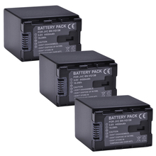 3 шт. VG138 VG114 VG121 Батарея для JVC BN-VG121 BN-VG121U BN-VG121US BN-VG138 BN-VG138U BN-VG138US BN-VG107 BN-VG107U BN-VG114