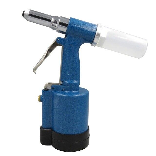 Пневматический воздушный гидравлический пистолет для заклепок клепальщик промышленный инструмент для клепки ногтей подходит для алюмини...