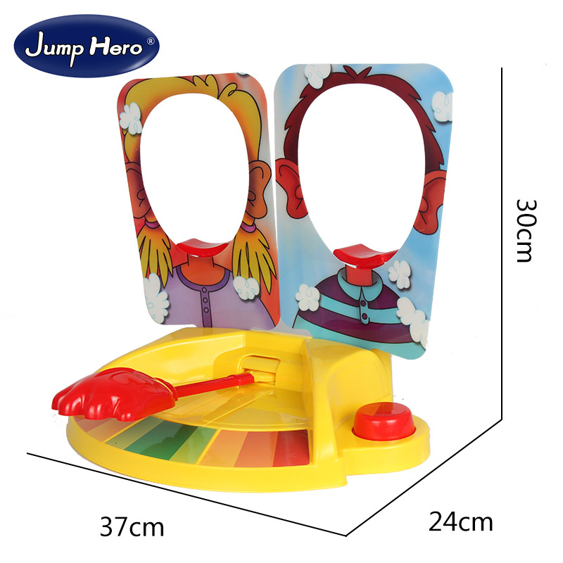 Cream Double Interactive Hit Face Machine Toy Plastic On Table Novelty Toys Pa Pa Jokes Party Game Adult Child Creative Gift #E