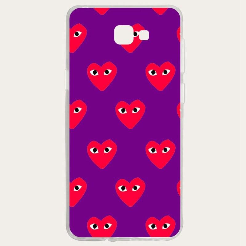 Mutouniao Heart Silicon Soft TPU Case Cover For Samsung Galaxy S3 S4 S5 S6 S7 S8 S9 Edge Plus I9300 I9500 E5 E7