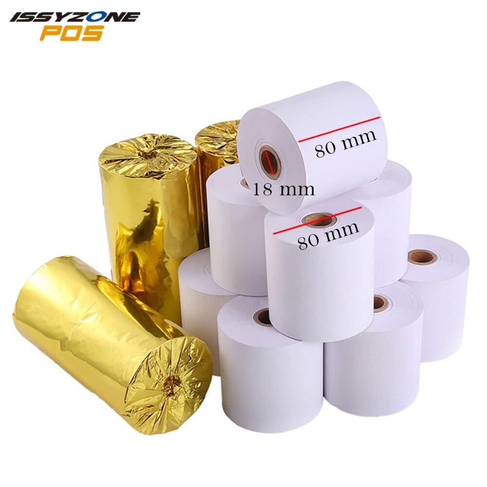 Thermal Paper 80*80mm Good Quality Thermal Receipt Paper 80mm For Desktop Printer(60 Meters Long Per Roll)