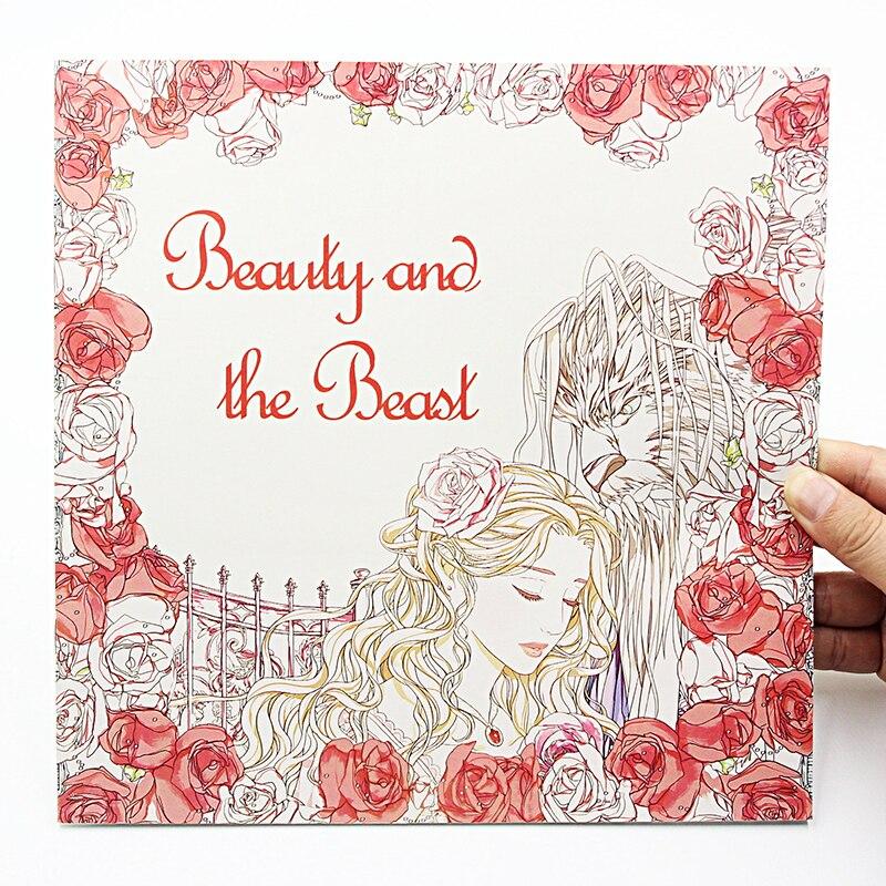 ⊹1 unids Nueva 24 páginas 25*25 cm colorear Libros para niños y ...