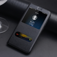 Huawei V9 Case Top Quality Classic Genuine Leather Stand Cover Case For Huawei V9 Flip Mobile