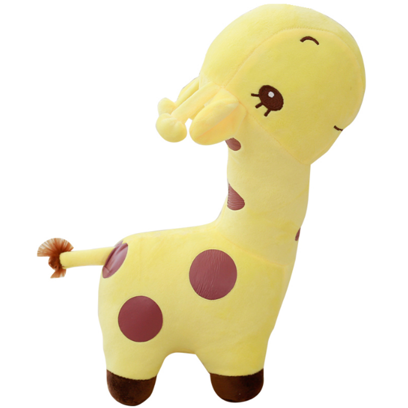 1pcs 10 28cm Cute Baby Toys Rainbow Giraffe Plush Toys Dolls For Kids Brinquedos kawaii gift for your friends on 7 Colors