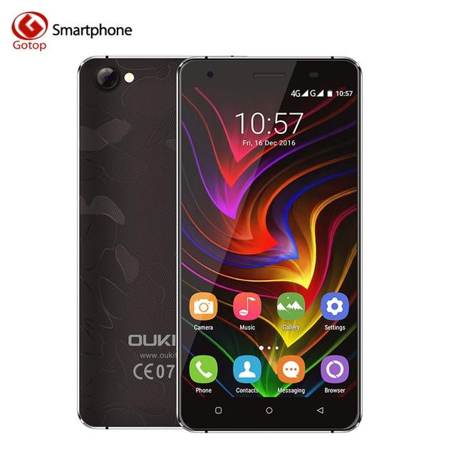 Original Oukitel C5 5.0 Inch Smartphone Android 7.0 MTK6580 Quad Core Mobile Phone 2GB RAM 16GB ROM 3G WCDMA Unlocked Cell Phone