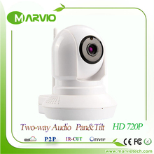 New HD 720P 1 Million Pixel Night Vision IR mini cctv camera digital camera webcam ipcam baby monitor , Onvif