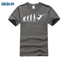 cd148a944 GILDAN Nice Tshirt Homme Fitness Ultimate Frisbee Evolution T Shirt Men  Fashion Cool Short Sleeve T