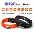 ID107 Smart Band Sports Smartband Heart Rate Monitor Health Fitness Tracker Bluetooth Wristband Watch PK Xiao Mi Band 2 Bracelet