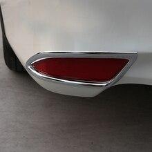 Free Shipping High Quality ABS Chrome Rear Fog lamps cover Trim Fog lamp shade Trim For Toyota Camry стоимость