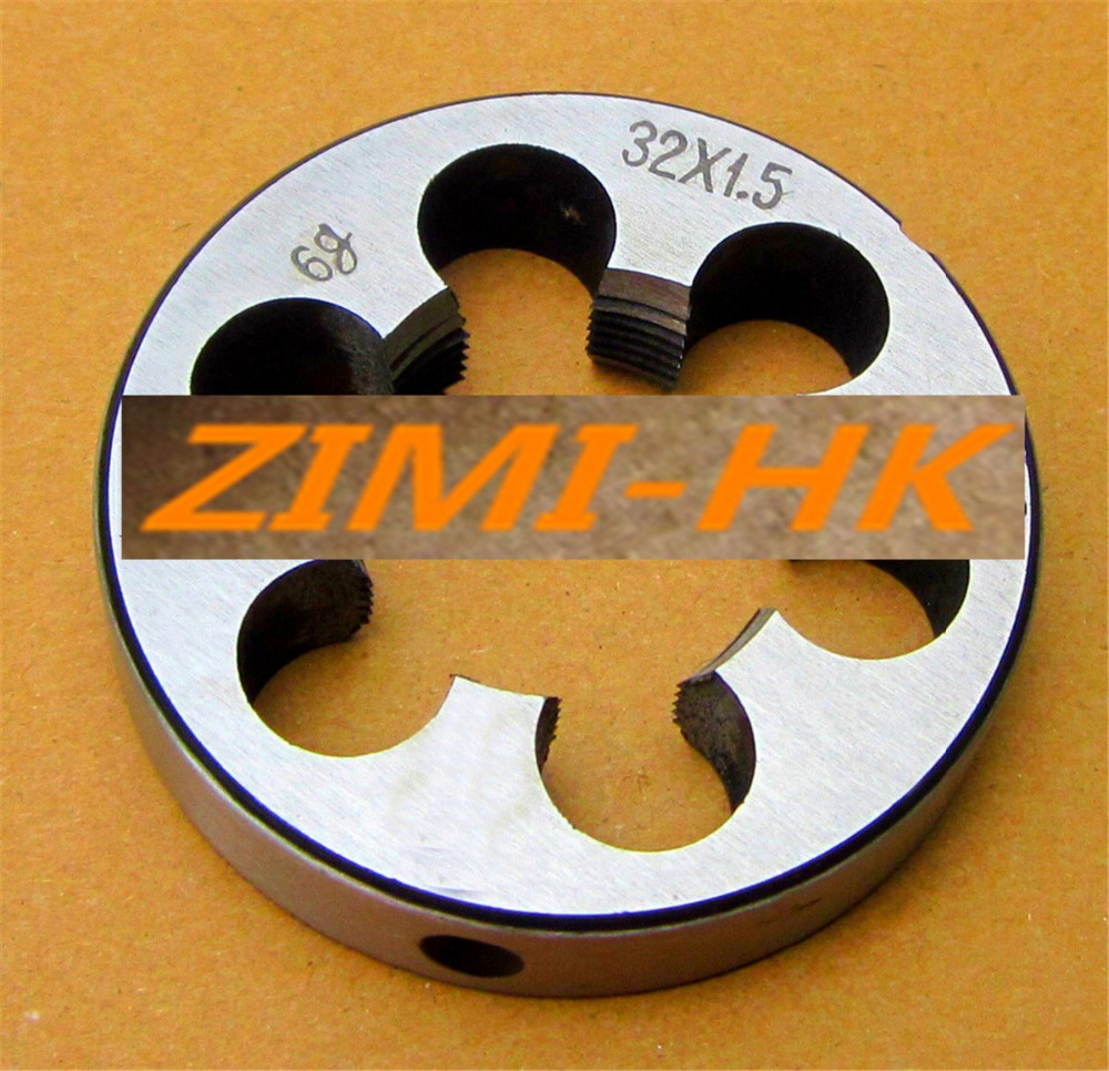 (1pcs) Die 32mm X 1.5 Metric Right Hand Die M32 X 1.5mm /M32*1.5(The High Quality )