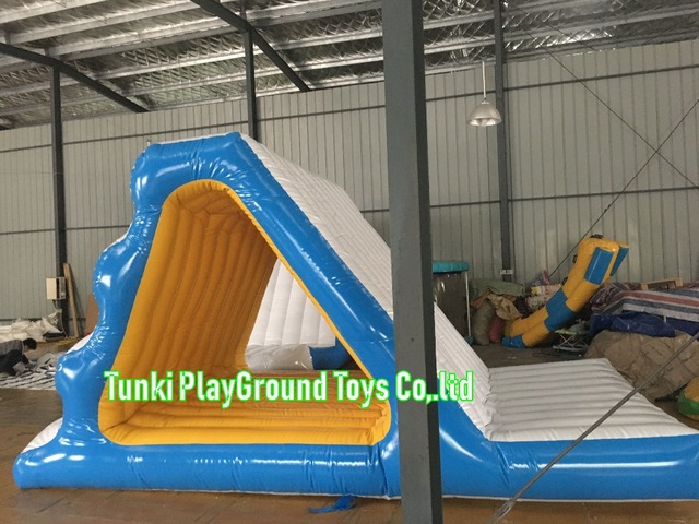 US $980 0 |Huge Inflatable Water Park Super Quality Inflatable Floating  Water Slide Good Price-in Water Play Equipment from Sports & Entertainment  on