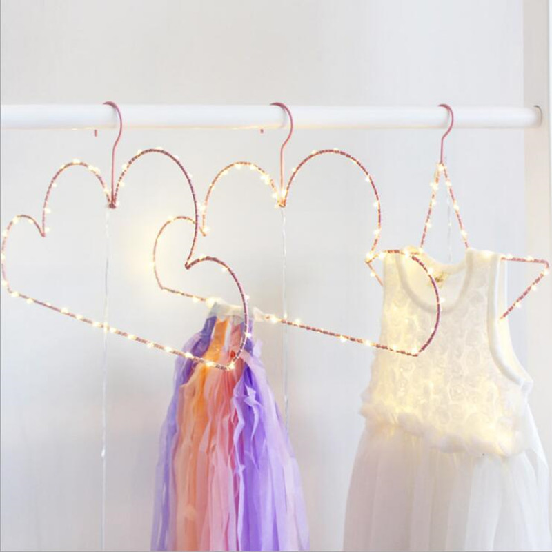 Guuuuo New Baby Luminous Clothes Hanger Star Cloud Style