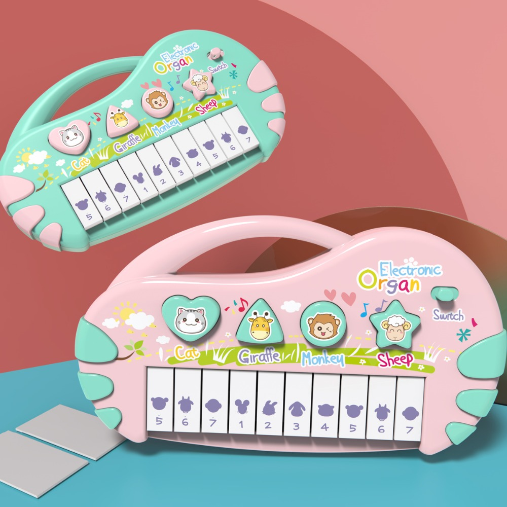 Children's electronic piano baby music infant early education puzzle piano toy boys and girls 0-1-3 years old 6