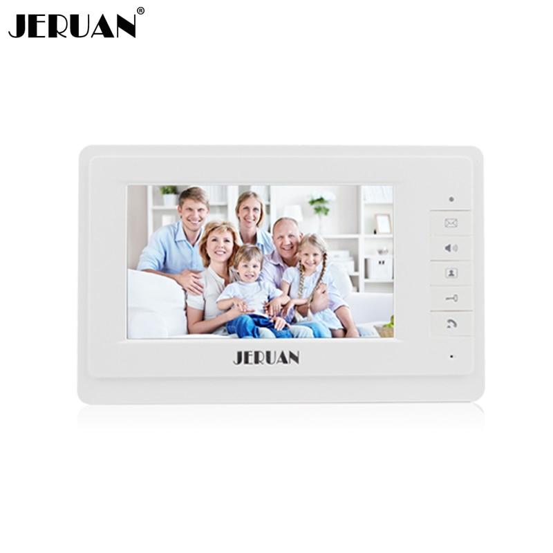 где купить JERUAN 7 inch color video door phone intercom system only monitor 714 дешево
