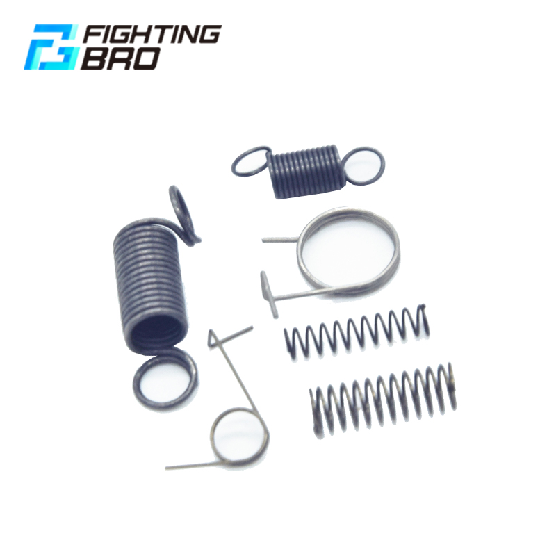 FightingBro Spring Group Carbon steel material for airsoft AEG Ver 2 3 AK M4 Spring group hunting accessories Paintball in Paintball Accessories from Sports Entertainment