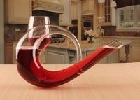 1PC 1500ML Crystal decanter decanter 6 harp decanter Wine Decant Set Jug Bar Champagne Water Bottle Drinking Glasses JS 1103