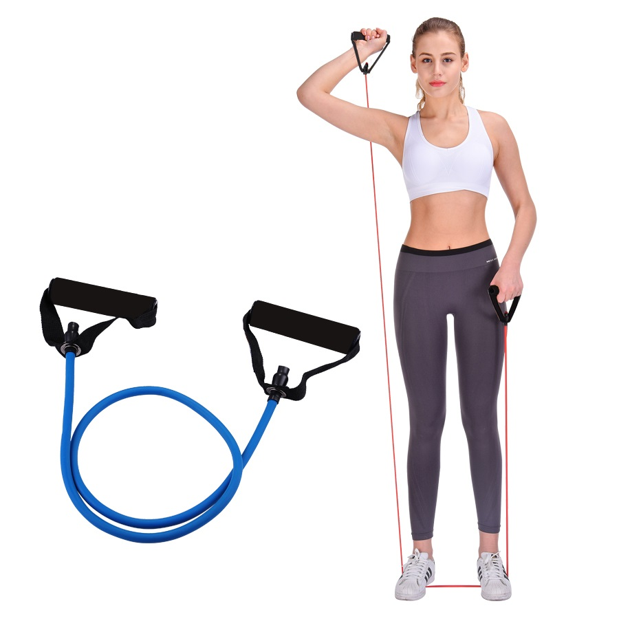 120cm Elastic Resistance Bands Yoga Pull Rope Fitness Workout Sports Bands Yoga Rubber Tensile Pull Rope Expander Banda Elastica