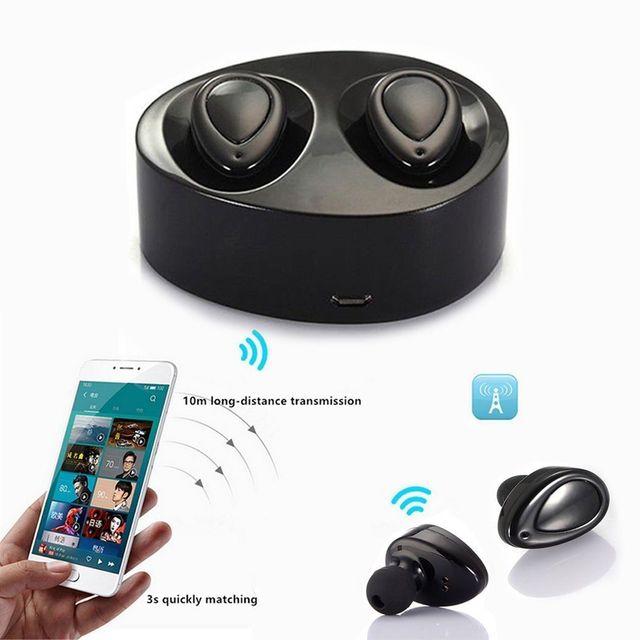 dd0b95aadb0102 Mini TWS Twins True Wireless Bluetooth Stereo Headset In-Ear Earphones  Earbuds