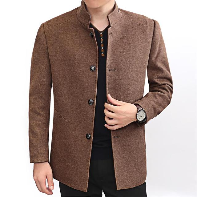 Aliexpress.com : Buy 2017 new Winter Wool Coat Men Slim Fit Jacket ...