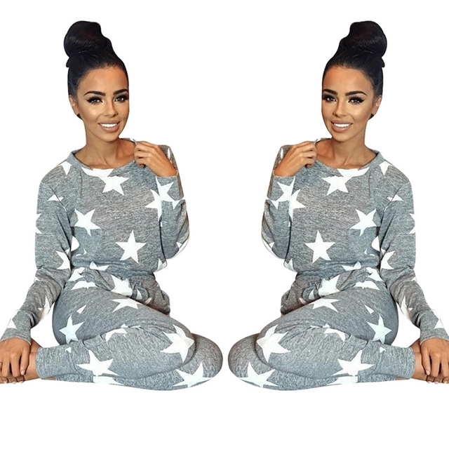 2016 new autumn winter women 2 piece clothing set casual fashion split ladies sexy tracksuit pants hoodie suit#17