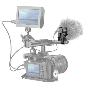 Image 5 - كاميرا صغيرة الحجم بمشبك لحامل الميكروفون العالمي DSLR لمشبك تثبيت المسدس والميكروفون 1993