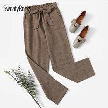 Autunno Streetwear Casual Gamba