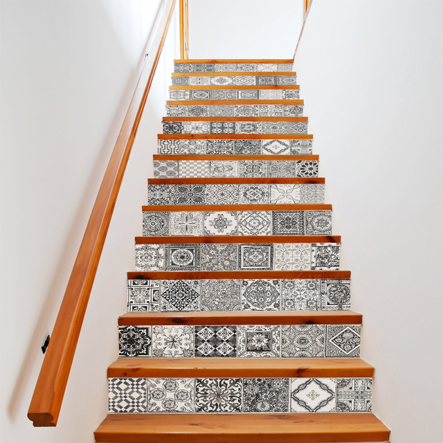 Aliexpress Com Koop Funlife Retro Tegel Diy Stairway