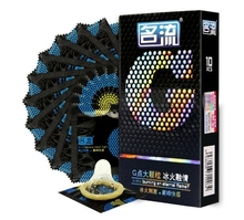 Good Quality 10pcs Particles Ice Fire Melting Heat Craving Condoms-Ultra Thin Point G Condom