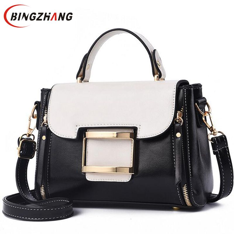 new high quality small ladies messenger bags leather shoulder bags women crossbody bag for girl brand women handbags L8-136