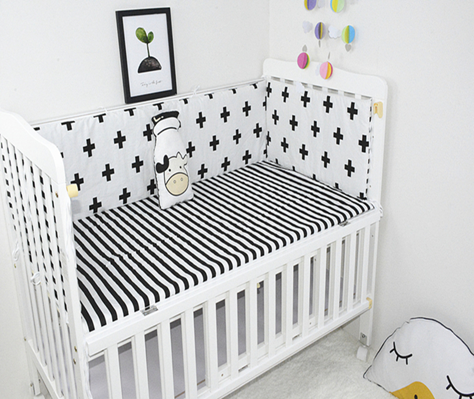 5Pcs Baby Bedding Set 100%Cotton Cartoon Infant Crib Bumper  Bed Safety Baby Fence Cot Sheet Newborn Bumper Baby Bed Sets120*60 5Pcs Baby Bedding Set 100%Cotton Cartoon Infant Crib Bumper  Bed Safety Baby Fence Cot Sheet Newborn Bumper Baby Bed Sets120*60