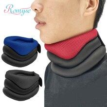 Губка с вырезом на шее поддержка шейный ошейник, тяга устройство Скоба носилки терапия для снятия боли Защита пояса Путешествия Подушка