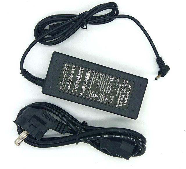 12 V 3A AC חשמל מתאם מטען עבור EZbook מגשר 3 פרו ultrabook עם כבל חשמל