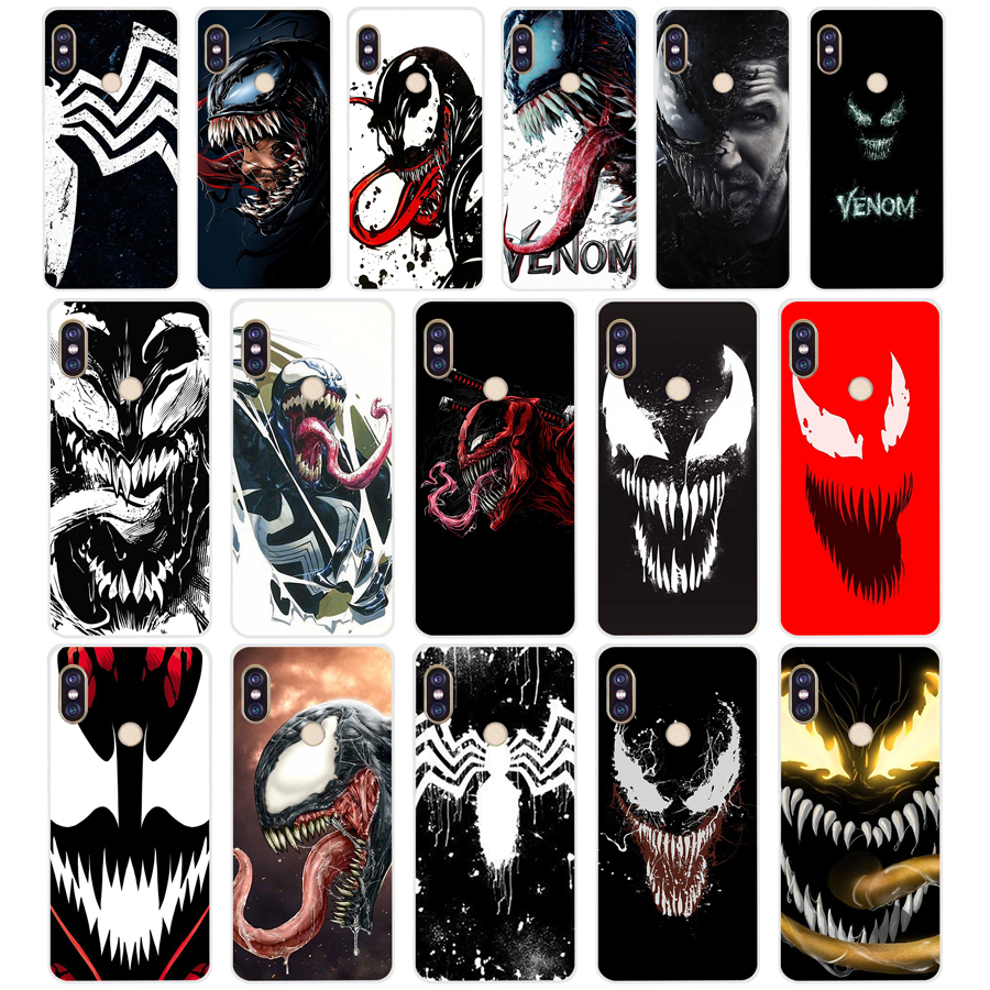 103 ZX Spiderman Villain <font><b>Marvel</b></font> Venom TPU Soft Silicone Phone <font><b>Case</b></font> for <font><b>Xiaomi</b></font> <font><b>Redmi</b></font> <font><b>Note</b></font> <font><b>4</b></font> 4X 5 7 6 pro plus a2 lite Cover image